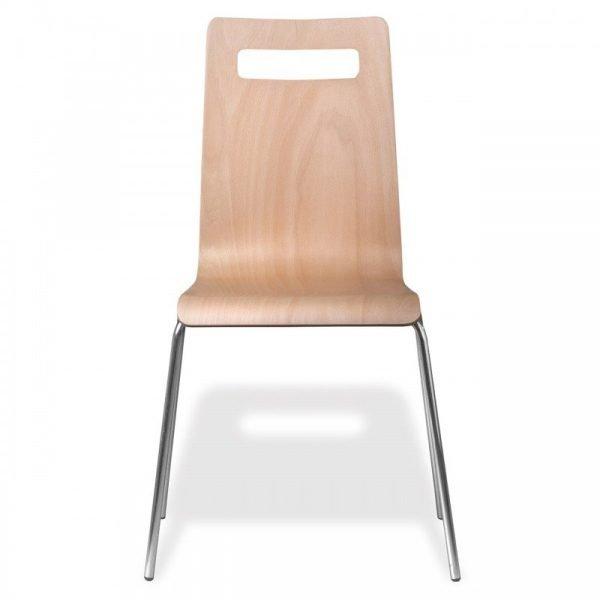 Chaise empilable en bois FIMA