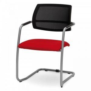 Chaise d'accueil colorée Hans-KT