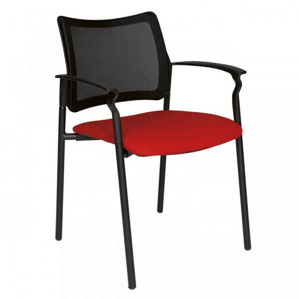 Chaise d'accueil colorée Axel-KT