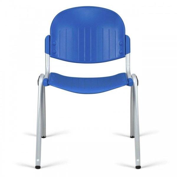 Chaise d'accueil colorée empilable DIAM-P