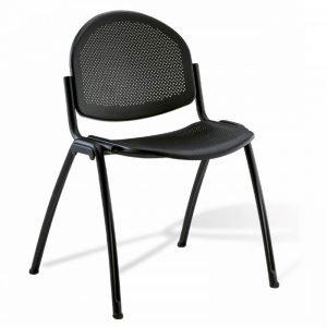 Chaise d'accueil en alu DIAM-M
