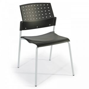 Chaise d'accueil empilable TIKO