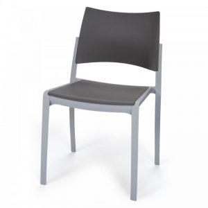 Chaise d'accueil empilable KOBI