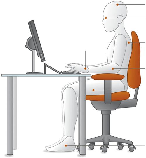 Siège de bureau assise
